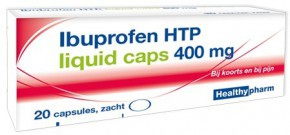 Image of Healthypharm Ibuprofen 400mg Liquid - 20 Capsules