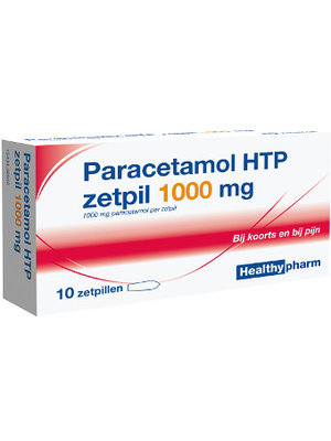 Healthypharm Healthypharm Paracetamol Zetpil 1000 Mg - 10 Sup
