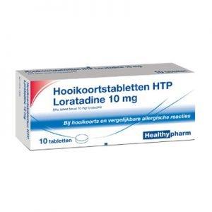 Image of Healthypharm Hooikoorts Loratadine - 10 Tabletten