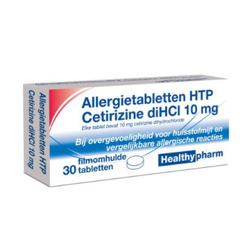 Healthypharm Healthypharm Cetirizine 10 Mg - 30 Tabletten