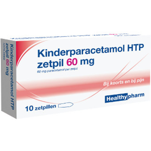 Healthypharm Healthypharm Paracetamol Zetpil 60 Mg - 10 Sup