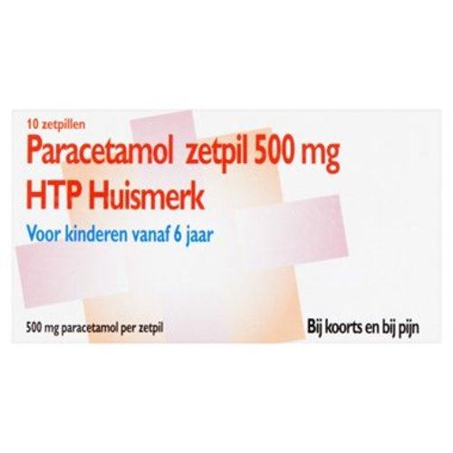 Htp Htp Paracetamol Zetpil 500mg - 10 Sup