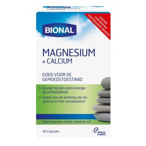 Bional Bional Magnesium+Calcium - 40 Capsules
