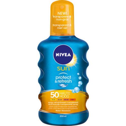 Nivea Nivea Sun Protect & Refresh Spf 50 - 200 Ml