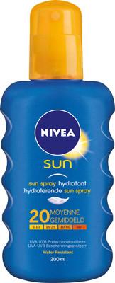 Image of Nivea Nivea Sun Spray Spf 20 - 200 Ml