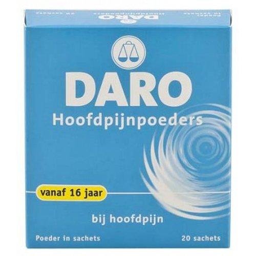 Daro Daro Hoofdpijnpoeders - 20 Pdr
