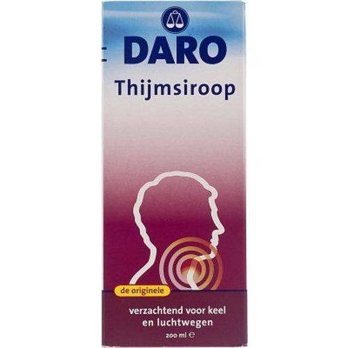 Daro Daro Thijmsiroop - 200 Ml