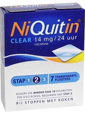 Niquitin Niquitin Clear Patch 14mg - 7 Stuks