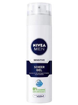 Nivea Nivea For Men Scheergel Sensitive - 200 Ml