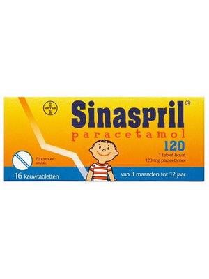 Sinaspril Sinaspril Paracetamol 120 Mg  16 Tabletten