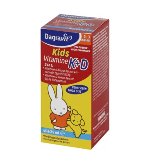 Dagravit Dagravit Kids Vit K+D Druppels - 25 Ml