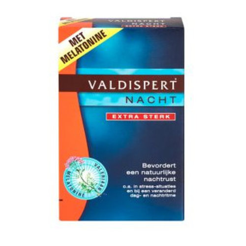 Valdispert Valdispert Nacht Extra Sterk - 40 Dragees