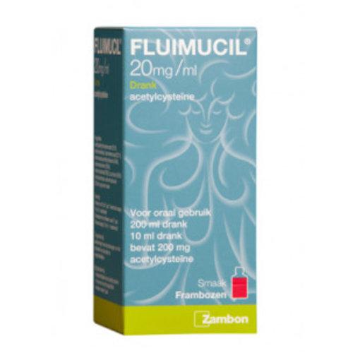 Fluimucil Fluimucil Drank 2% - 200 Ml