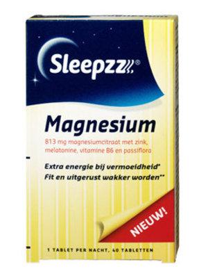 Sleepzz Sleepzz Magnesium - 40 Tabletten uitverkocht!!!!