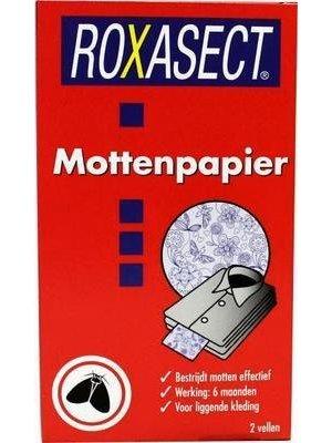 Roxasect Roxasect Mottenpapier - 2 Stuks