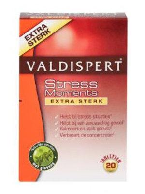 Valdispert Valdispert Stress Moments Extra Sterk - 20 Tabletten