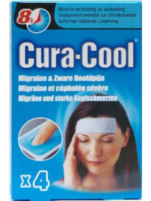 Cura-Cool Cura-Cool Migraine - 4 Strips