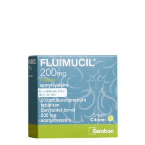 Fluimucil Fluimucil Pastilles - 20 Stuks