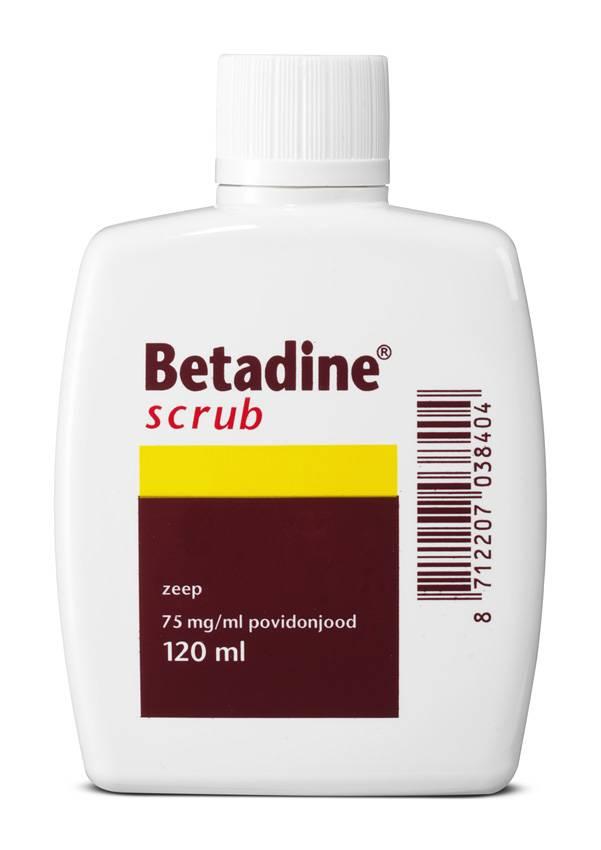 Image of Betadine Betadine Scrub Flacon - 120 Ml