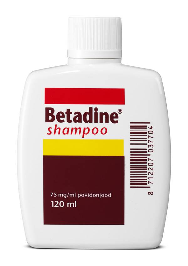 Image of Betadine Betadine Shampoo - 120 Ml