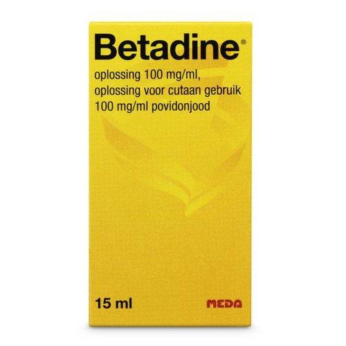 Betadine Betadine Oplossing - 30 Ml