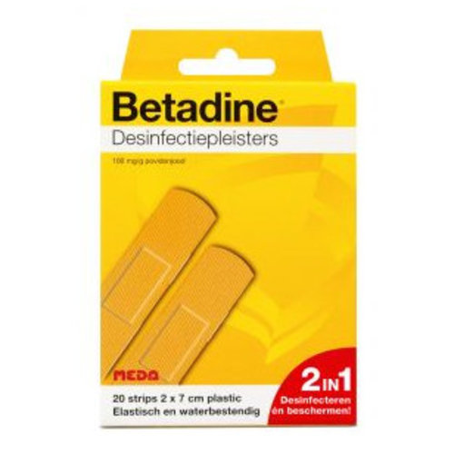 Betadine Betadine Desinfectiepleister - 20 Stuks