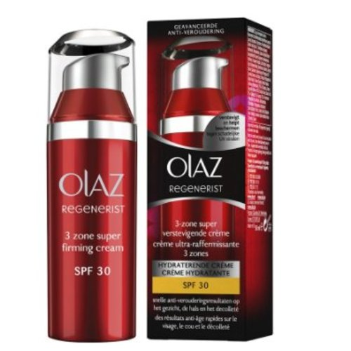 Oil of Olaz Oil Olaz Regenerist 3 Zone Super Verstevigende Creme Spf 30 - 50 Ml