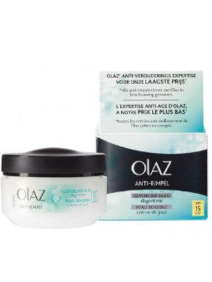Oil of Olaz Oil Olaz Anti Wrinkle Dagcreme Sensitive - 50 Ml-UITVERKOCHT!!!