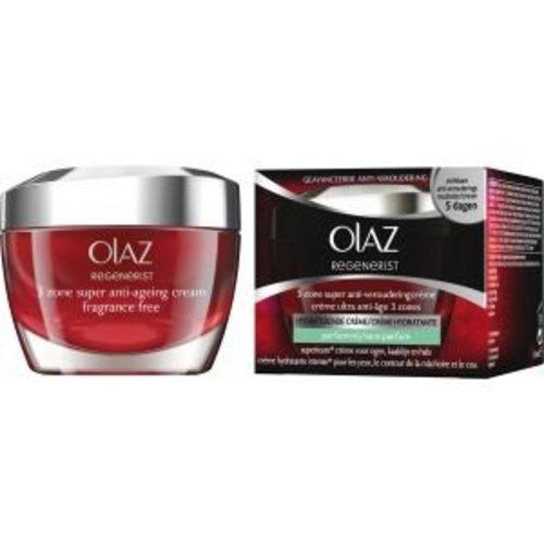 Oil of Olaz Oil Olaz Regenerist Daily 3 Zone Treatment - 50 Ml