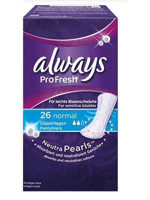 Always Always Inlegkruisjes Pro Fresh Normal- 26 Stuks