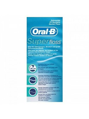 Oral B Oral B Floss Super Regular - 50 Stuks