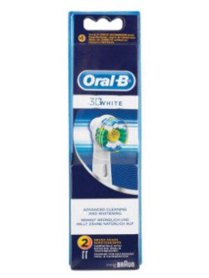 Oral B Oral B Opzetborstels 3d White - 2 Stuks