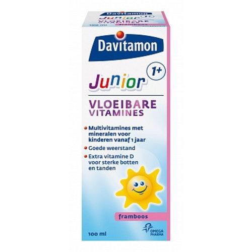 Davitamon Davitamon Junior + Vloeibaar - 100 Ml