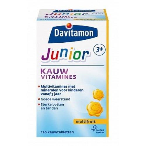 Davitamon Davitamon Junior 3+ Kauwvitamine Multifruit - 120 Stuks
