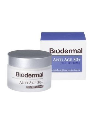 Biodermal Biodermal Nachtcreme Anti-Age 30 - 50 Ml