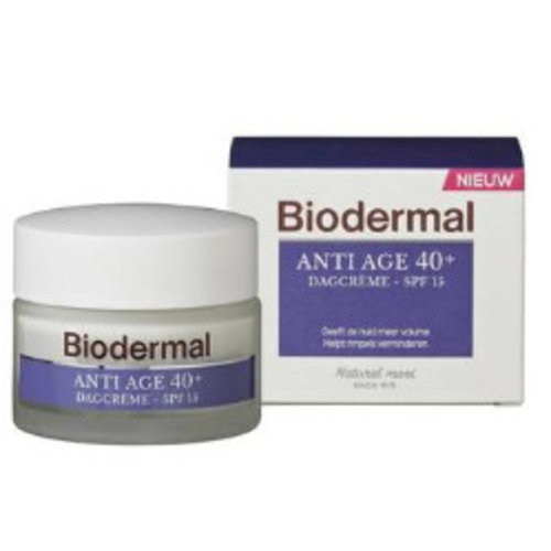 Biodermal Biodermal Dagcreme Anti-Age 40+ - 50 Ml