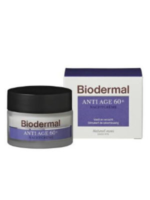 Biodermal Biodermal Nachtcreme Anti-Age 60 -50 Ml