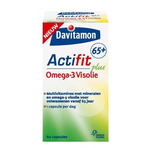 Davitamon Davitamon Actifit 65+ Visolie- 60 Tabletten
