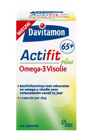 Afbeelding van Davitamon Davitamon Actifit 65+ Visolie- 60 Tabletten