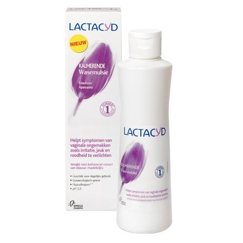Lactacyd Lactacyd Wasemulsie Kalmerend - 250 Ml