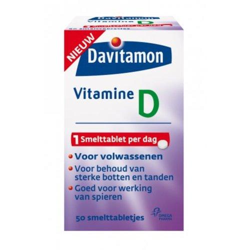 Davitamon Davitamon D Volwassen Smeltt - 50 Smelttabletten