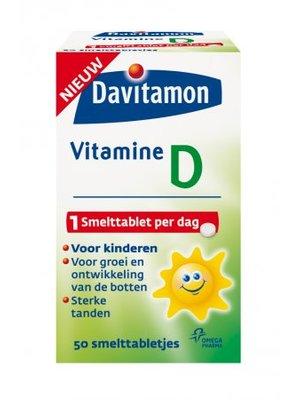 Davitamon Davitamon D Kind Smelttbl - 50 Smelttabletten