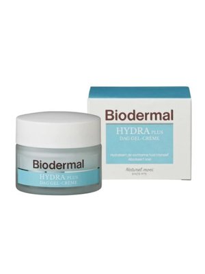 Biodermal Biodermal Dagcreme Gel Vochtarme Huid - 50 Ml