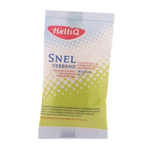 Heltiq Heltiq Snelverband No 2 18x18 - 1 Stuks