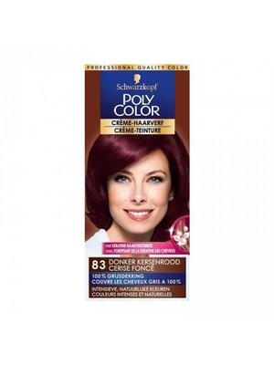 Poly Poly Color Creme 83 Donker Kersenrood - 1 Stuks