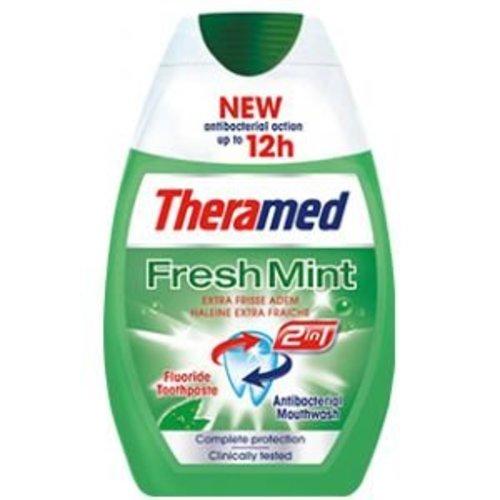 Theramed Theramed Tandpasta 2in1 Fresh Mint - 75 Ml