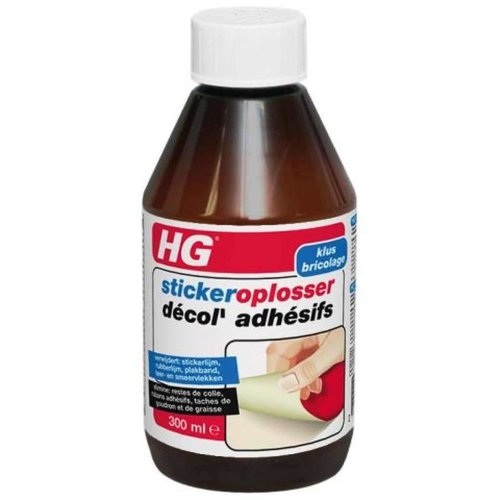Hg Hg Sticker Oplosser - 300 Ml