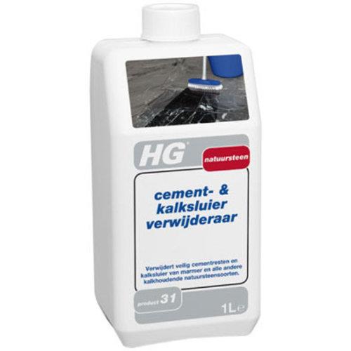Hg Hg Natuursteen Cement- & Kalksluier Verwijderaar - 1 Liter