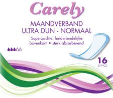 Image of Carely Carely Maandverband Ultra Dun Normaal -16 Stuks
