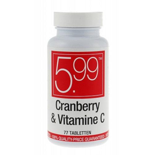 Cranberry Cranberry Blaas 5.99 - 77 Tabletten